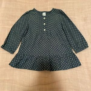 Carter's Chambray Dot Blouse